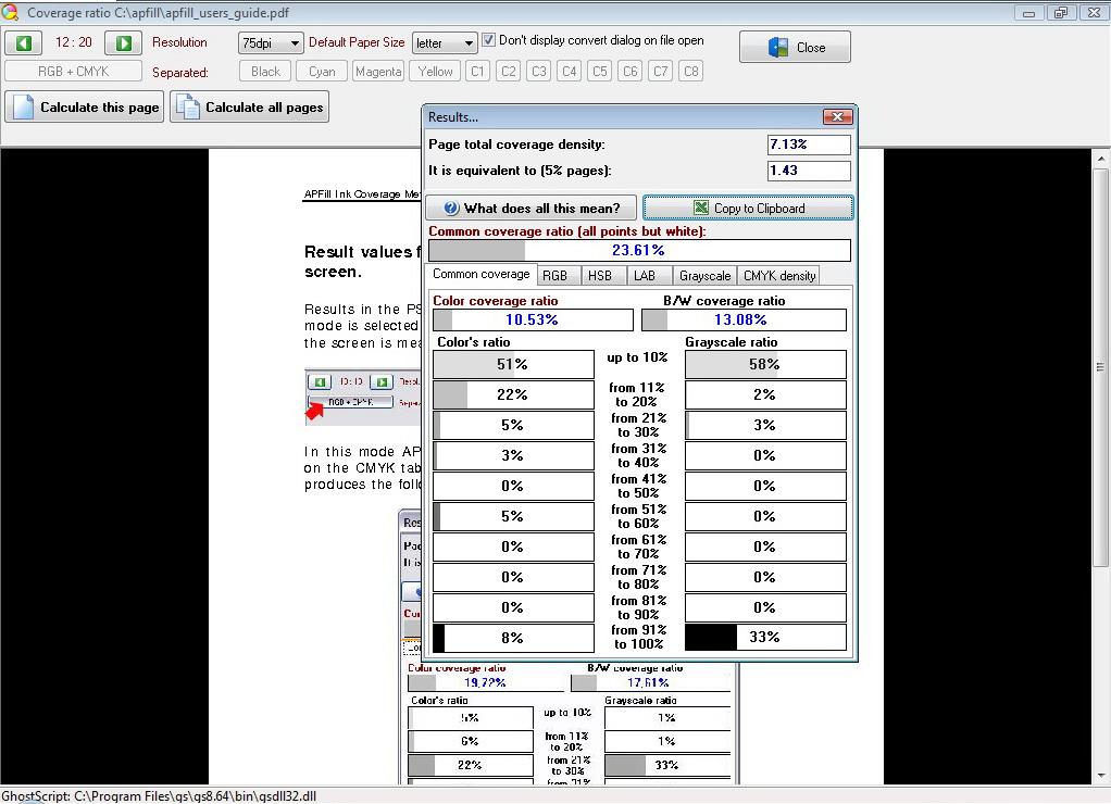ghostscript pdf to tiff multipage