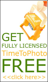 Get fully licensed TimeToPhoto FREE!